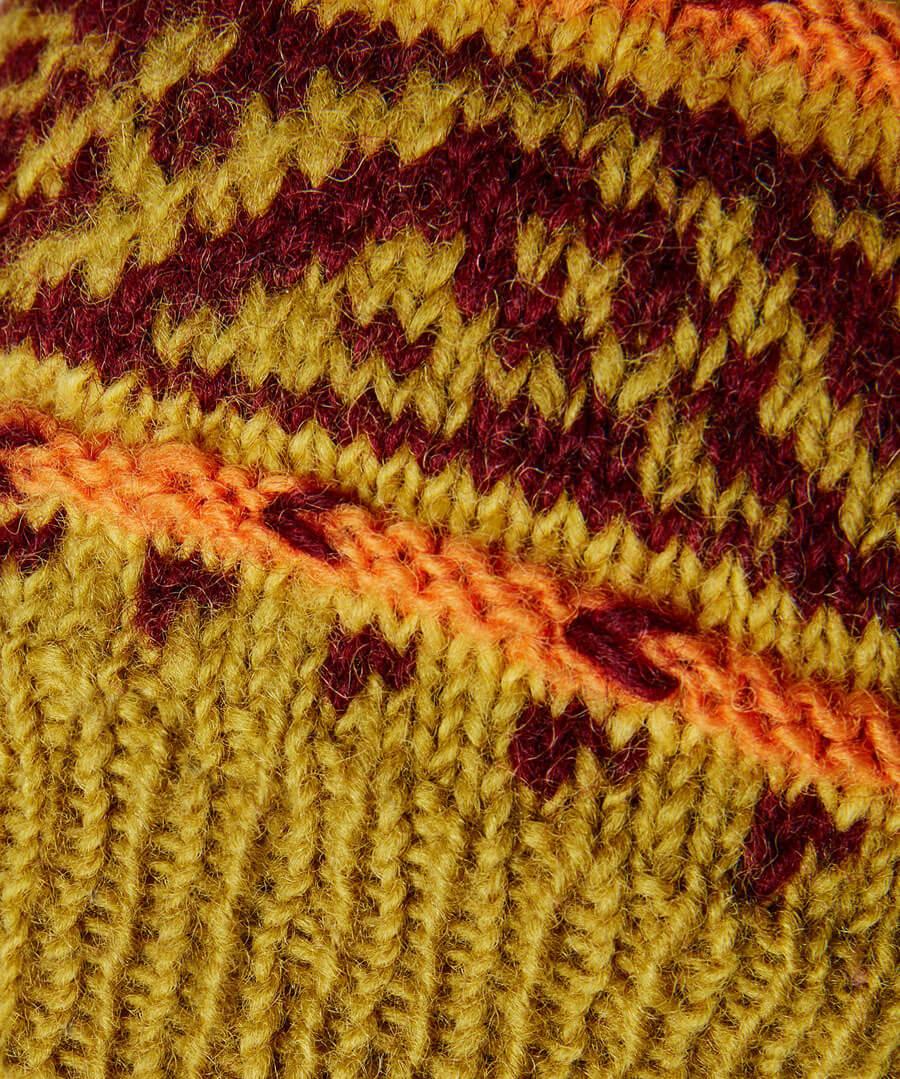 Winters Dream Wool Hat Back