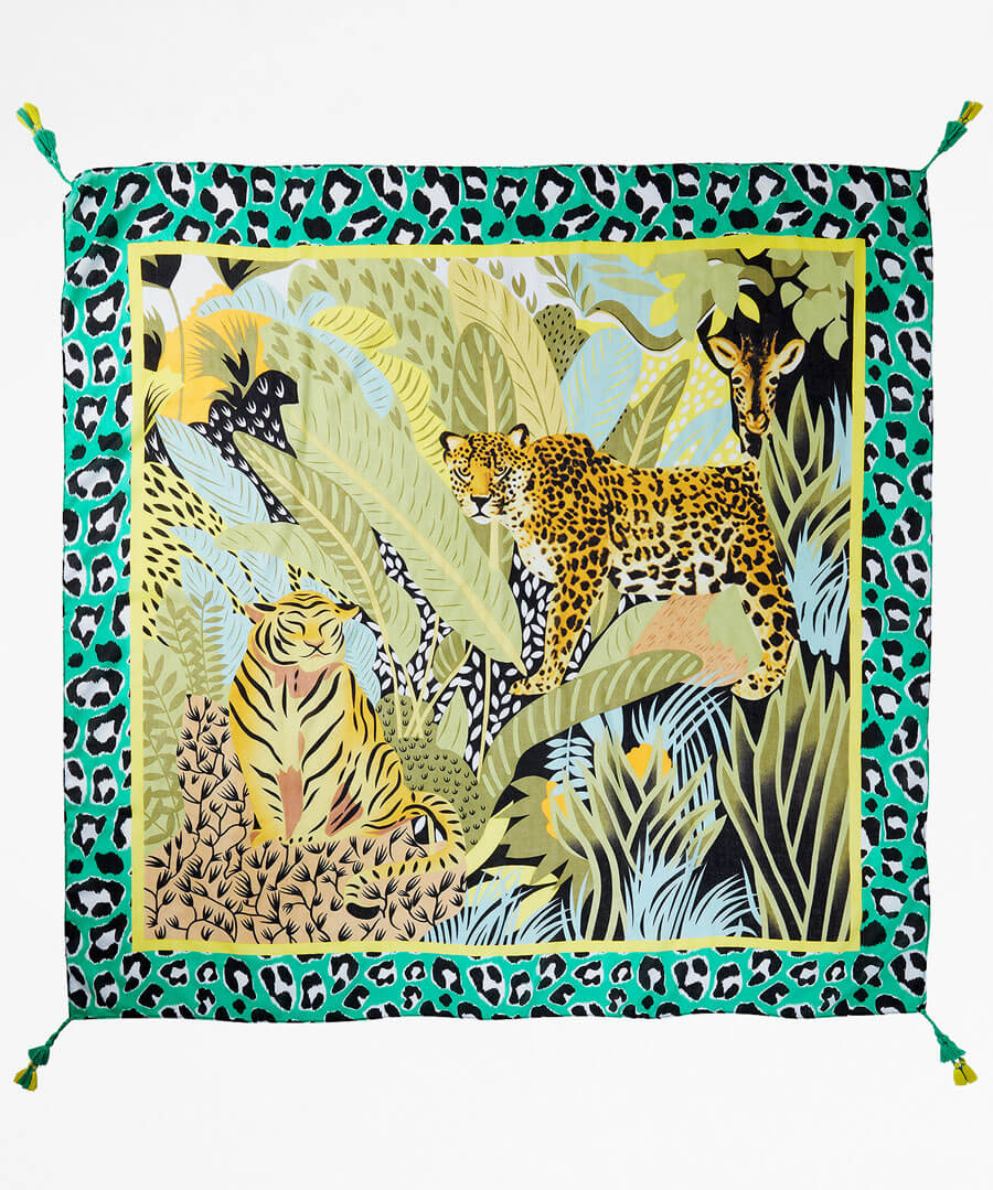 Out Of Africa Scarf Back