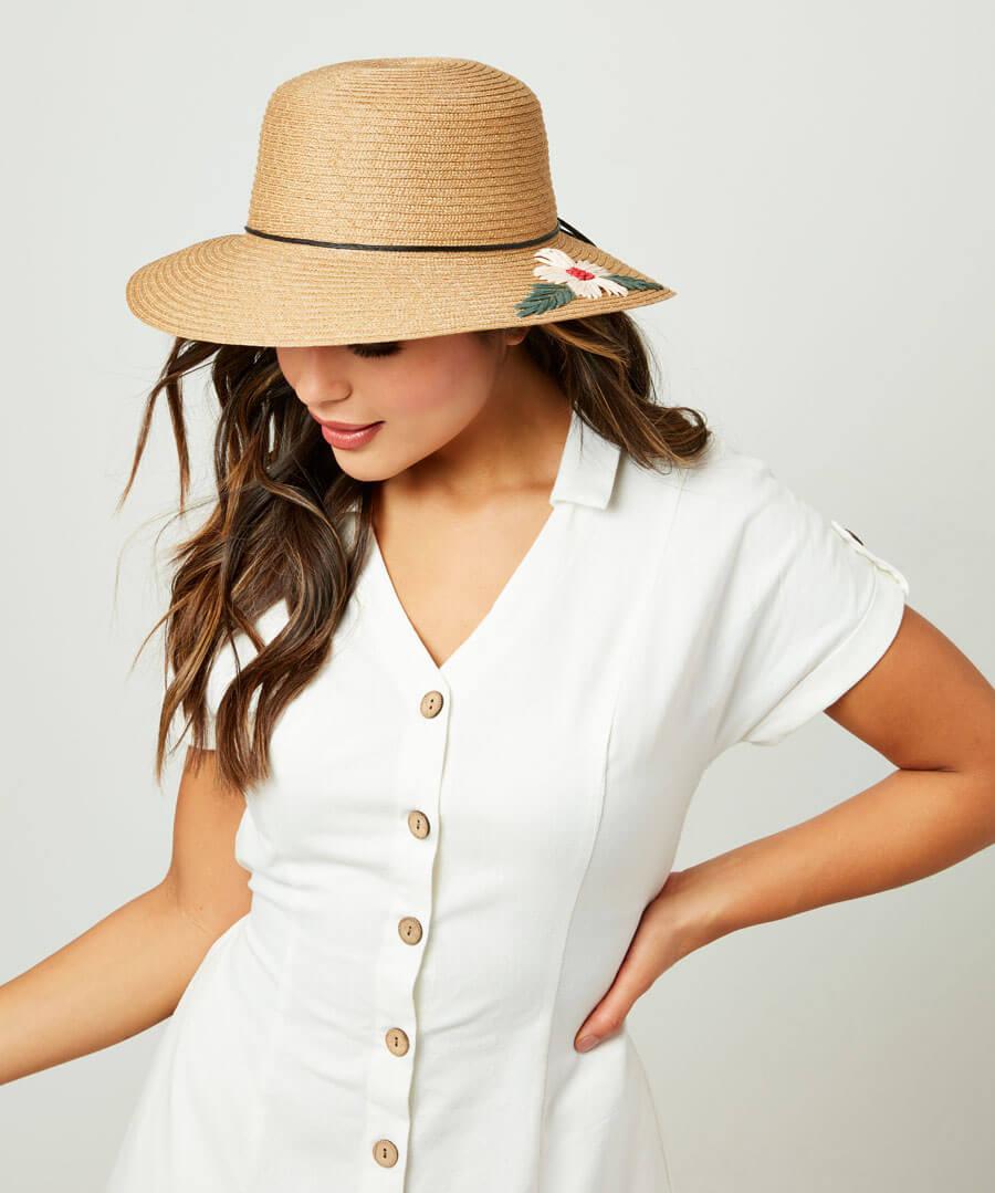 Daisy Summer Hat