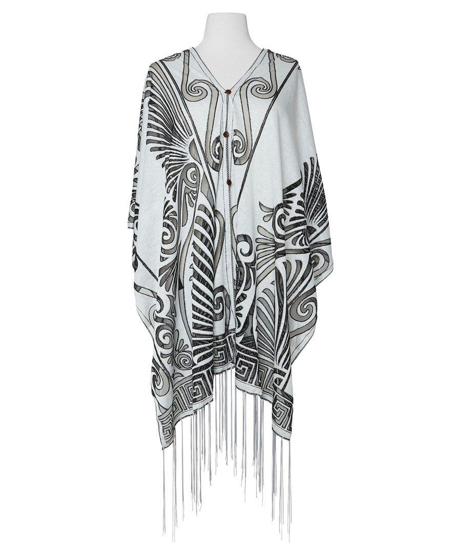 Art Deco Vibes Cover Up Model Front