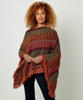 Spice Of Life Funky Knit Poncho
