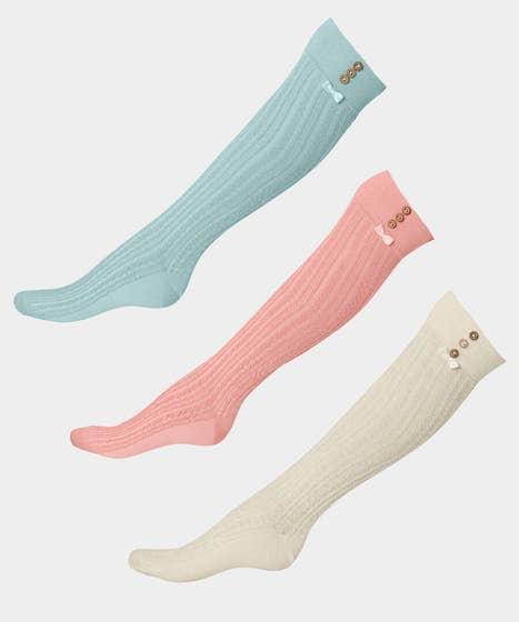 Sloe Joes Pack Of 3 Knee Length Socks