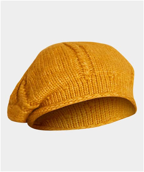 Cute To Boot Knitted Beret