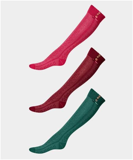 Preppy 3Pk Boot Socks