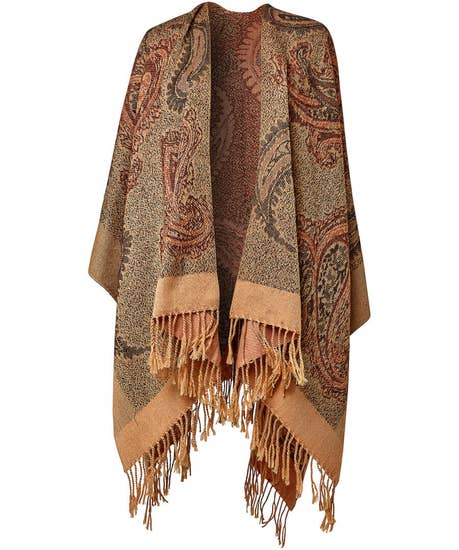 Cool Winds Paisley Wrap