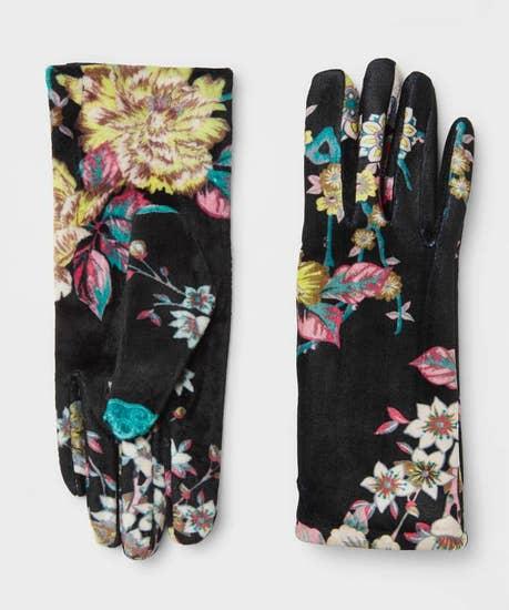 Curiosity Shop Velvet Gloves