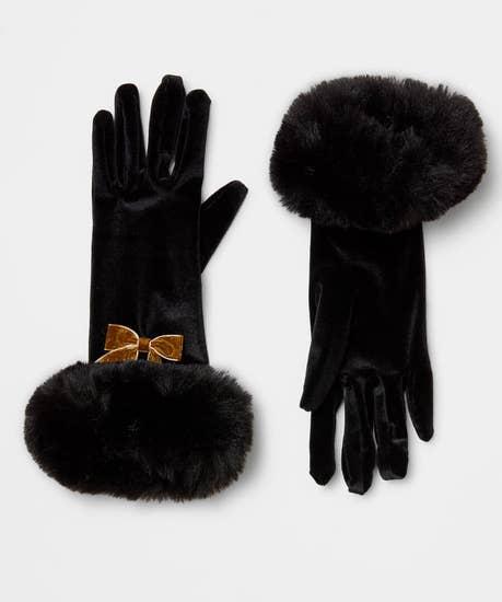 Winter Magic Velvet Gloves