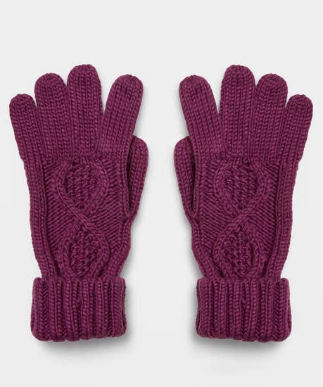 Nice And Cosy Cable Gloves