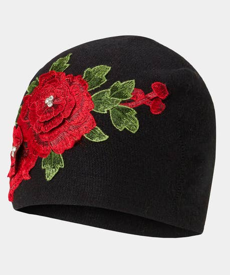 Frosted Rose Cosy Hat