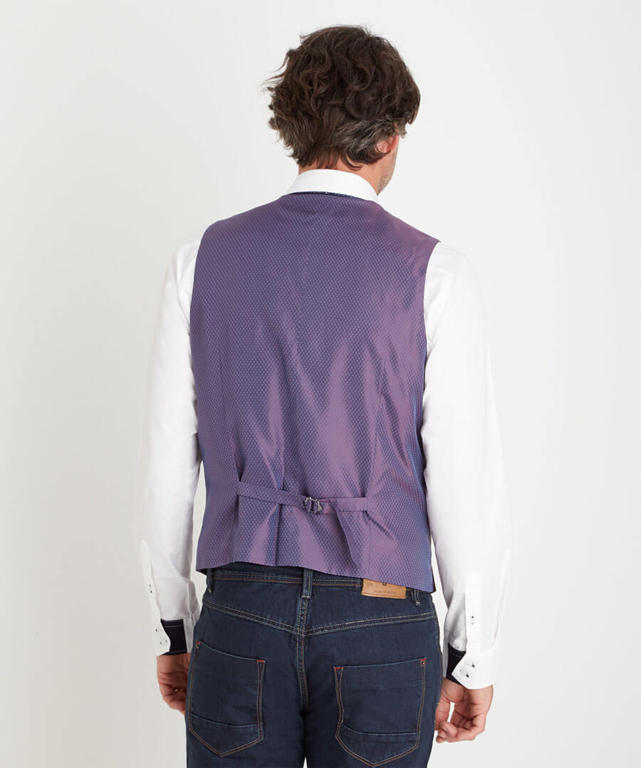 Perfect Port Waistcoat Model Back
