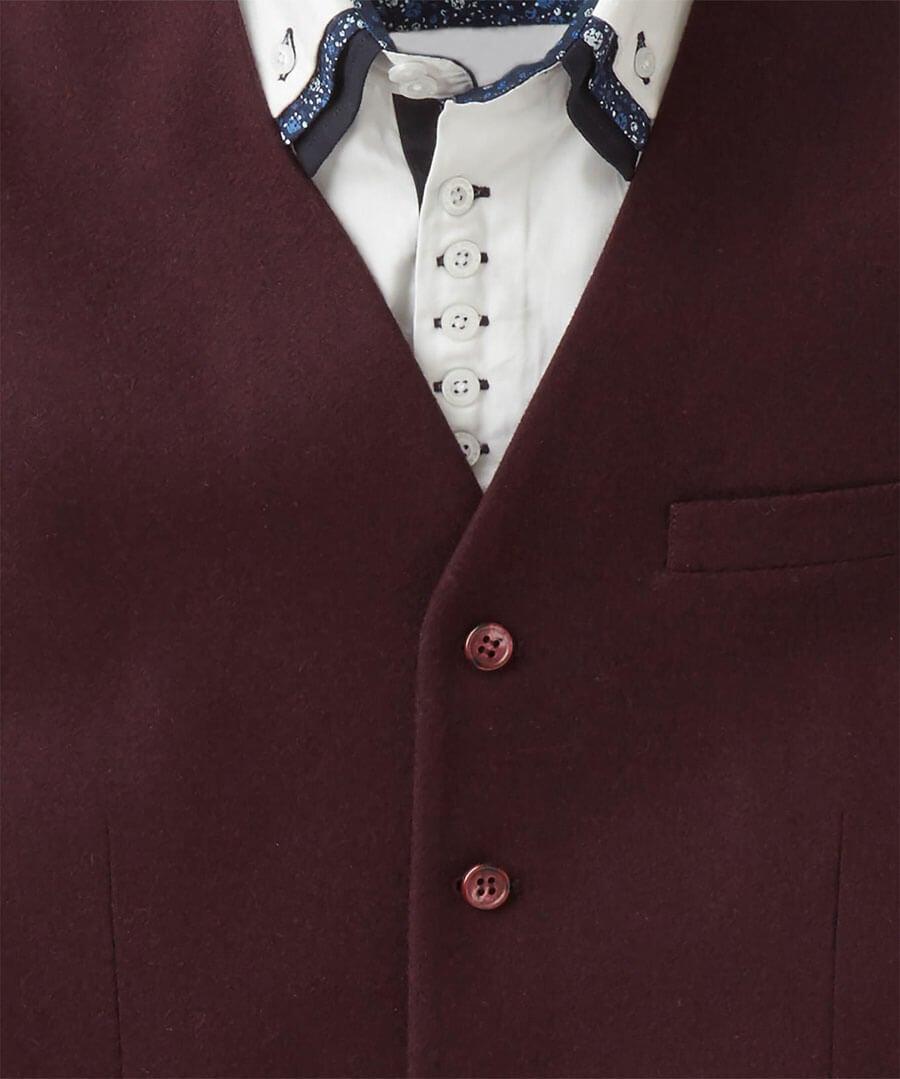 Perfect Port Waistcoat Back