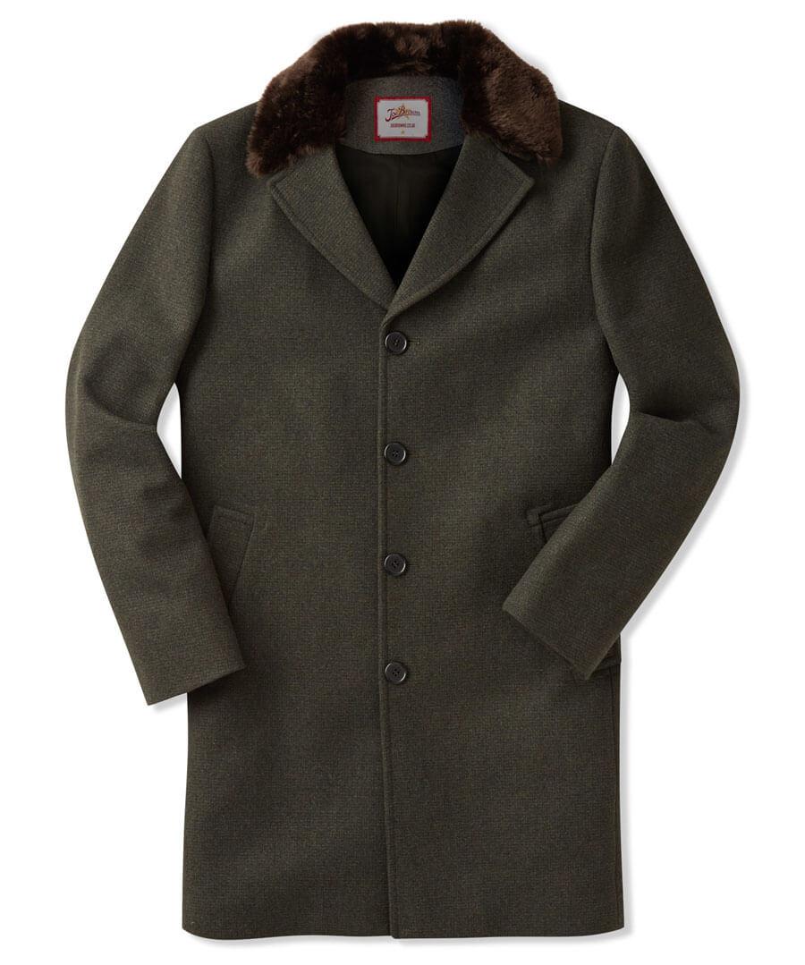 Dressed To Impress Overcoat Model Front