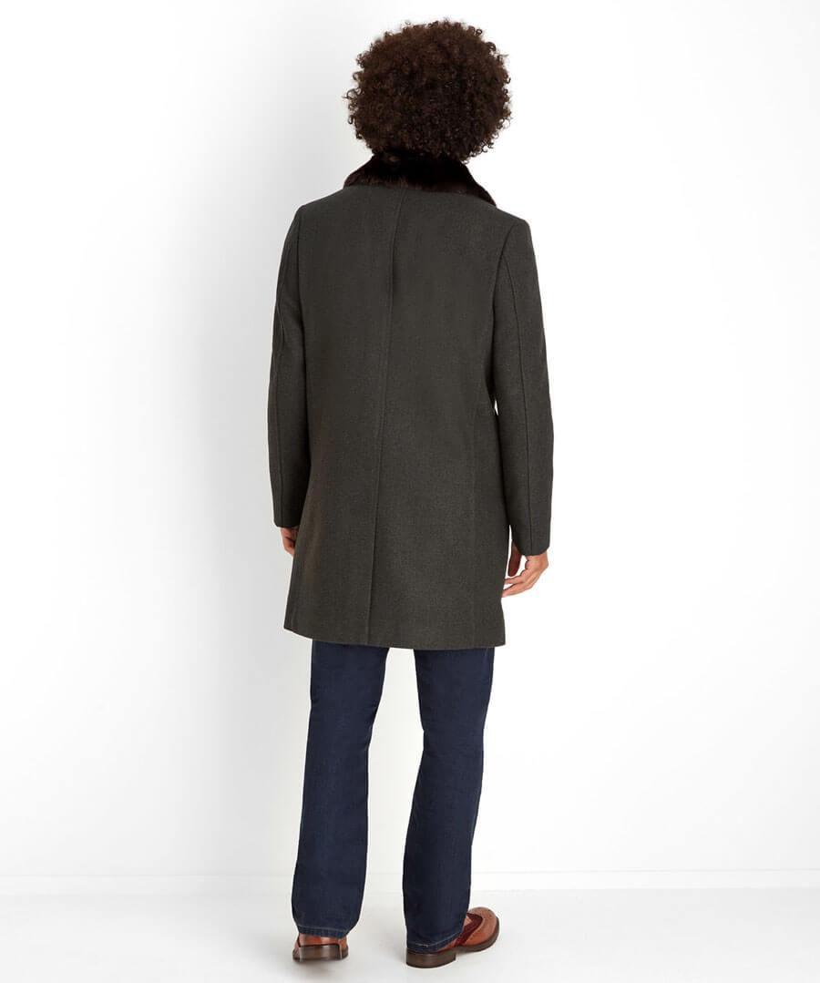 Dressed To Impress Overcoat Model Back