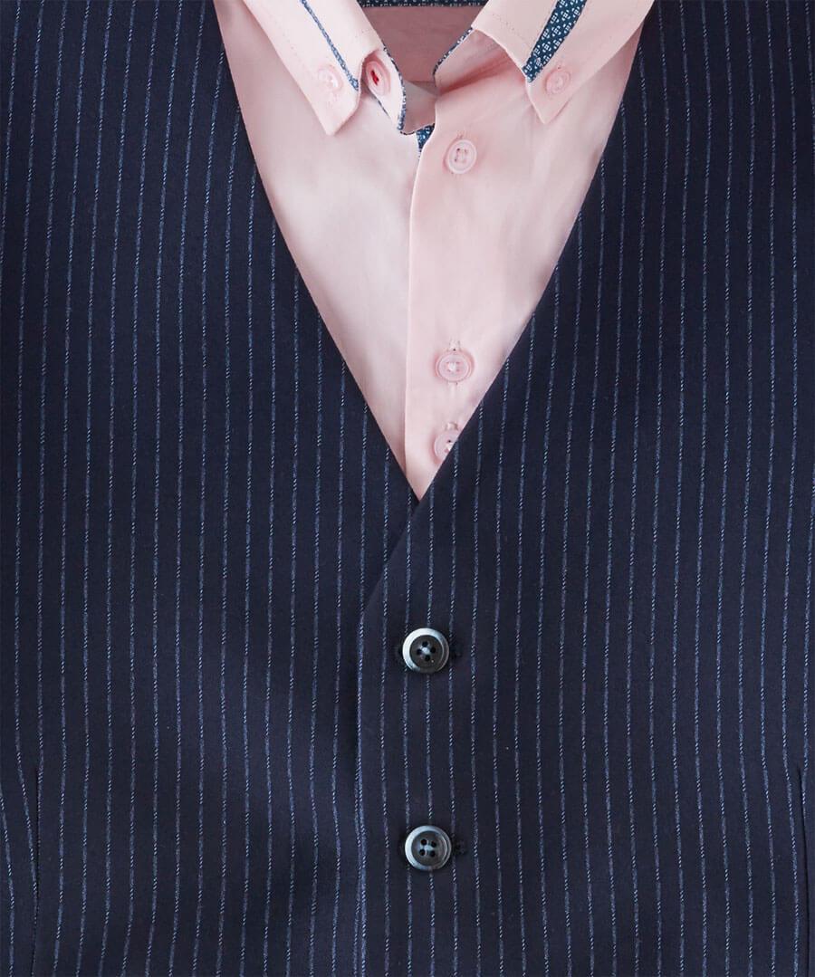 Sensational Stripe Waistcoat Back