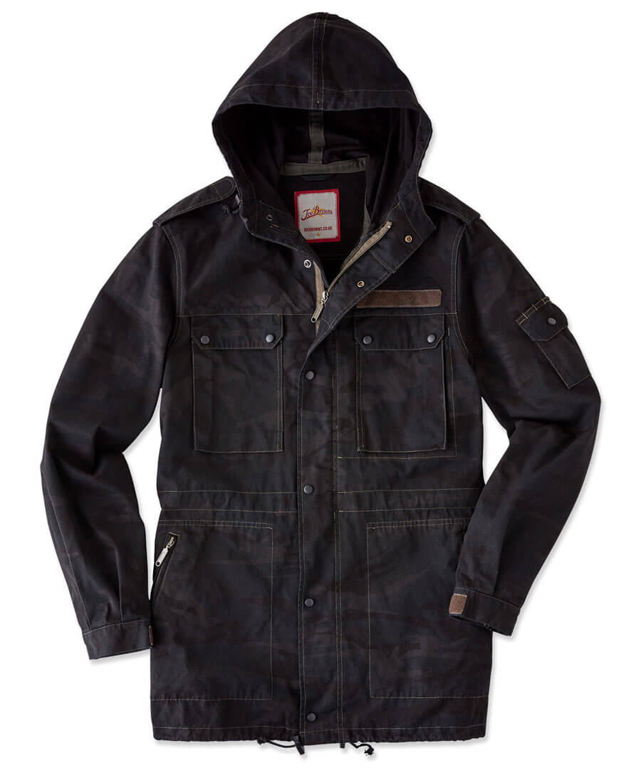 Seen Some Action Jacket Model Front