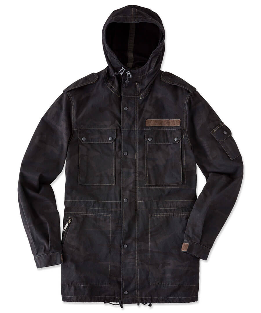 Seen Some Action Jacket Back