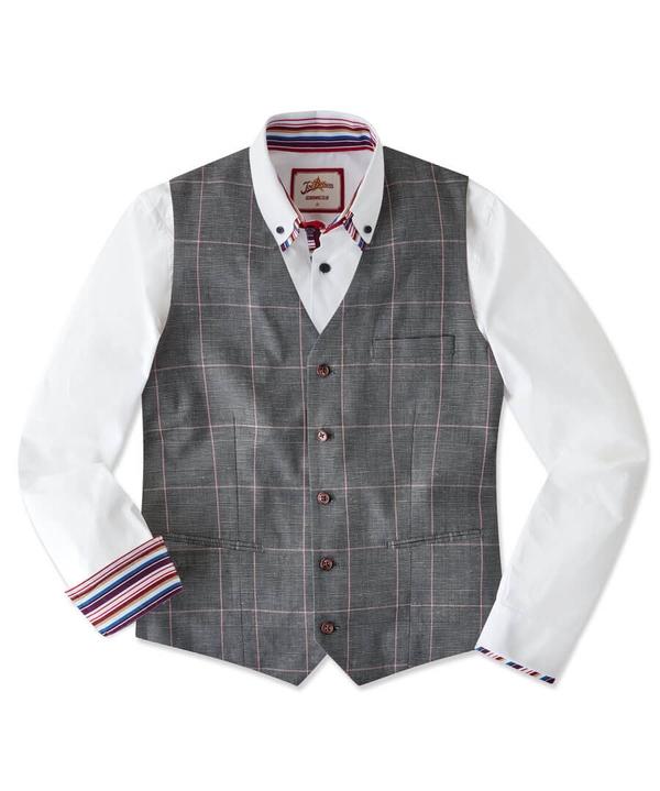 Charmed Check Waistcoat