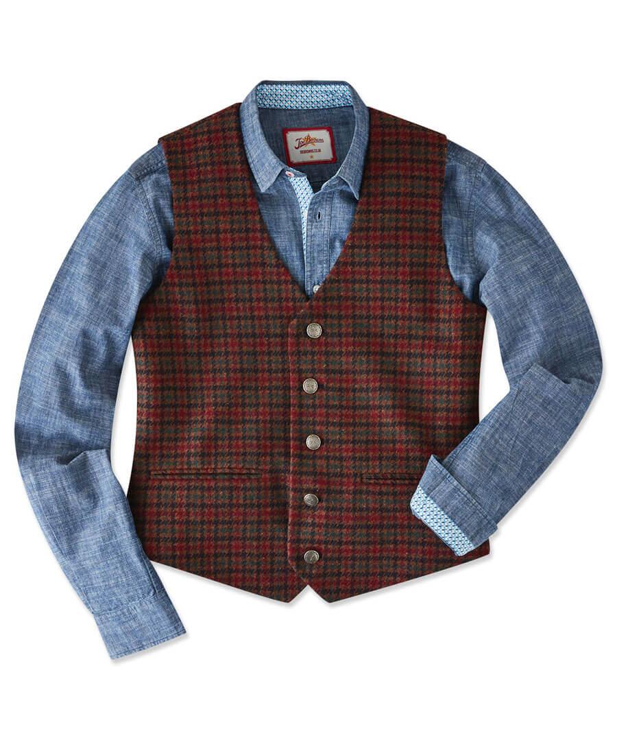 Wear It Your Way Waistcoat Model Front