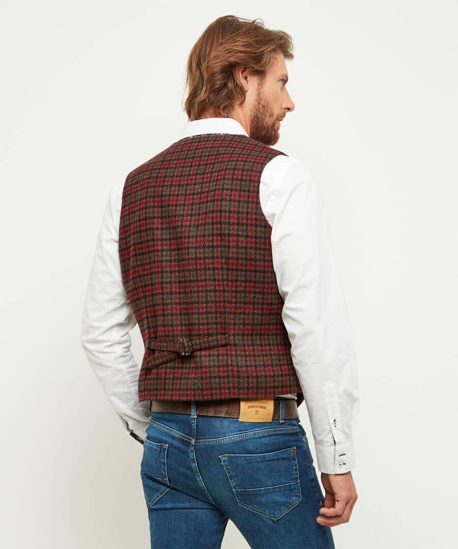 Wear It Your Way Waistcoat Model Back
