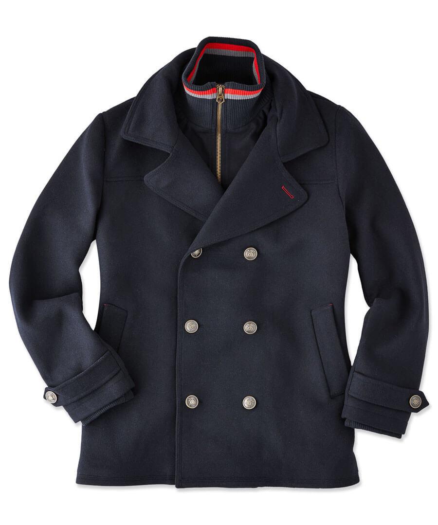 Off Shore Coat Model Front