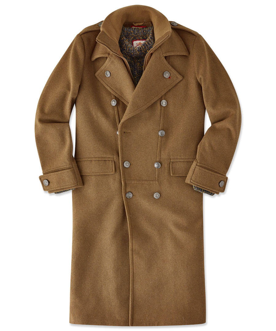 Blast From The Past Coat Model Front