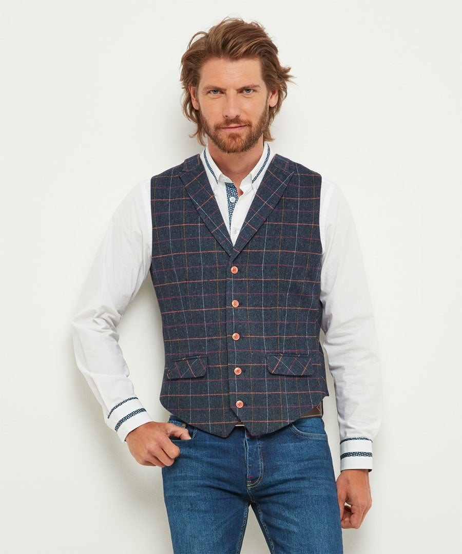 Eye Catching Waistcoat Model Front