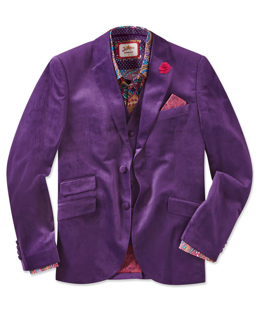 Party Perfect Blazer Model Front