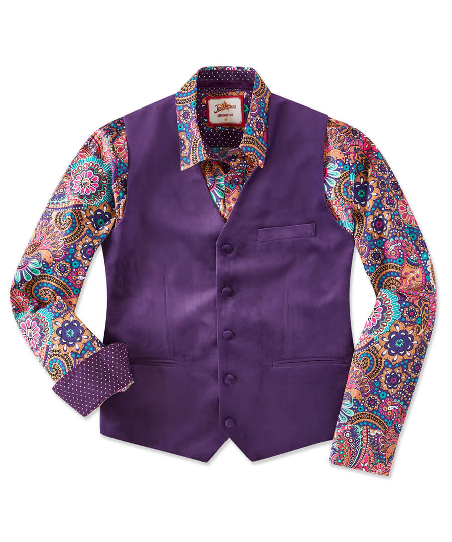 Party Perfect Waistcoat Model Front