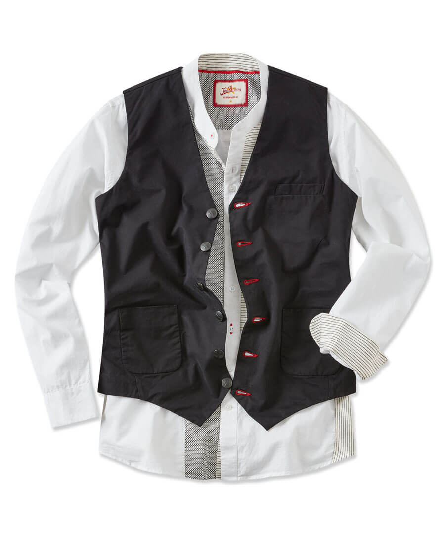 Rock Out Waistcoat Model Front