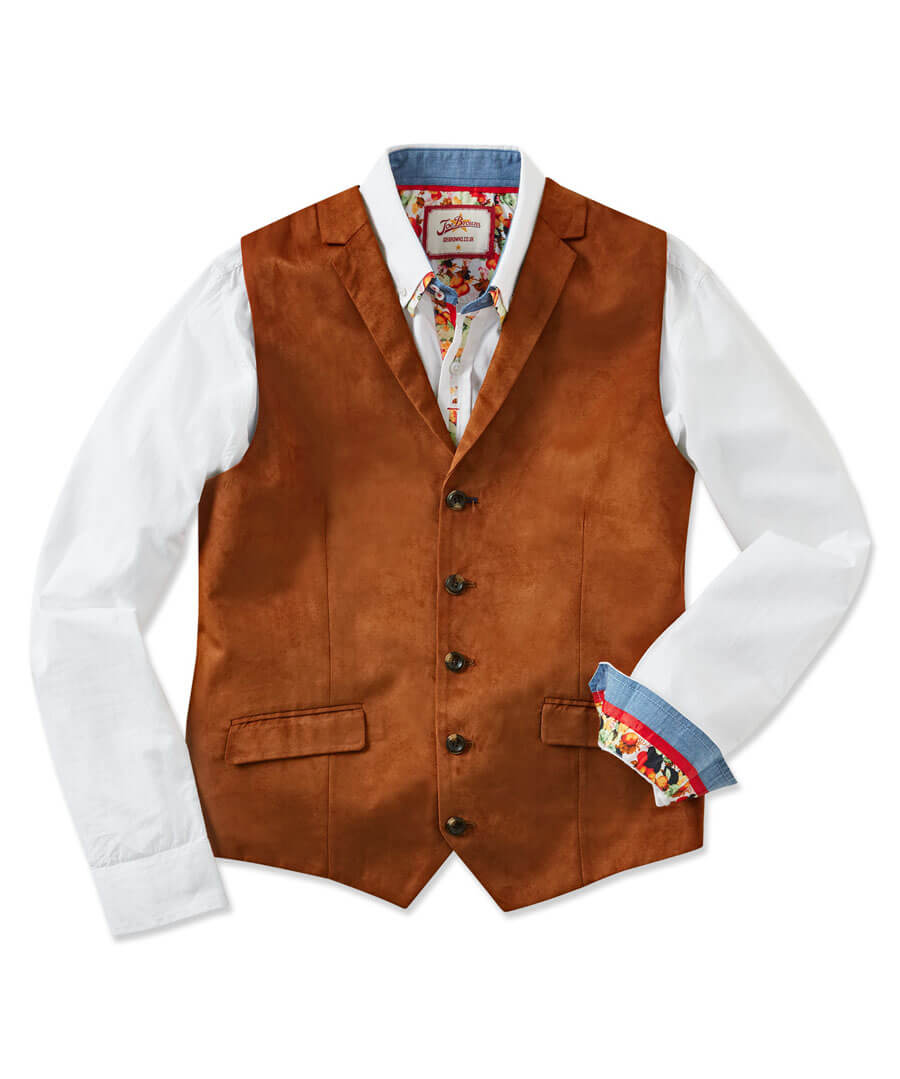 Deadly Dapper Waistcoat Model Front