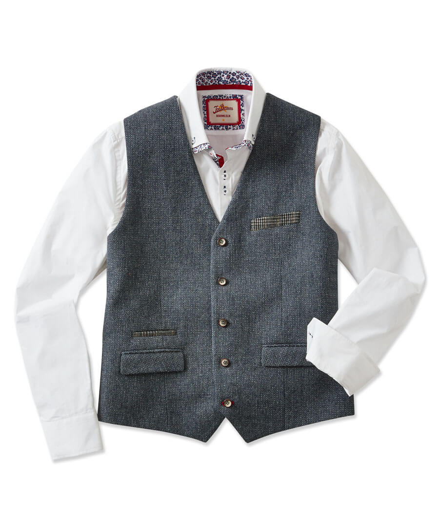 Complementary Waistcoat Model Front
