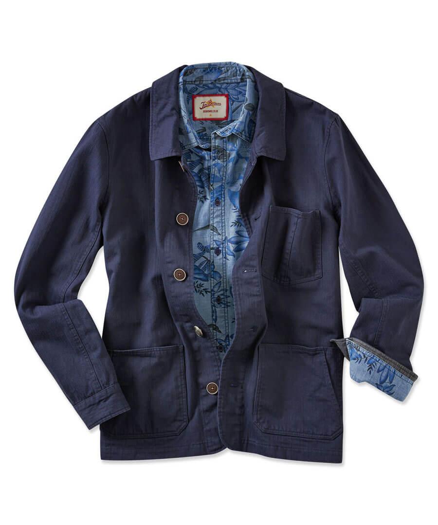 Work It Jacket Model Front