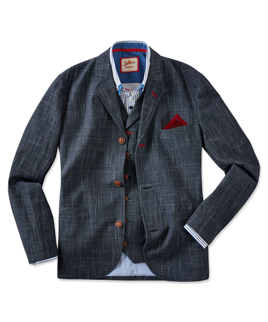 Confidently Cool Blazer Model Front