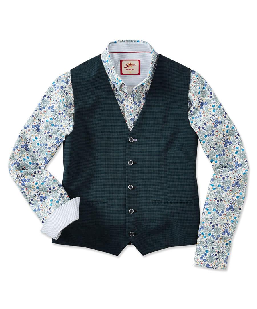 Super Snappy Suit Waistcoat Model Front