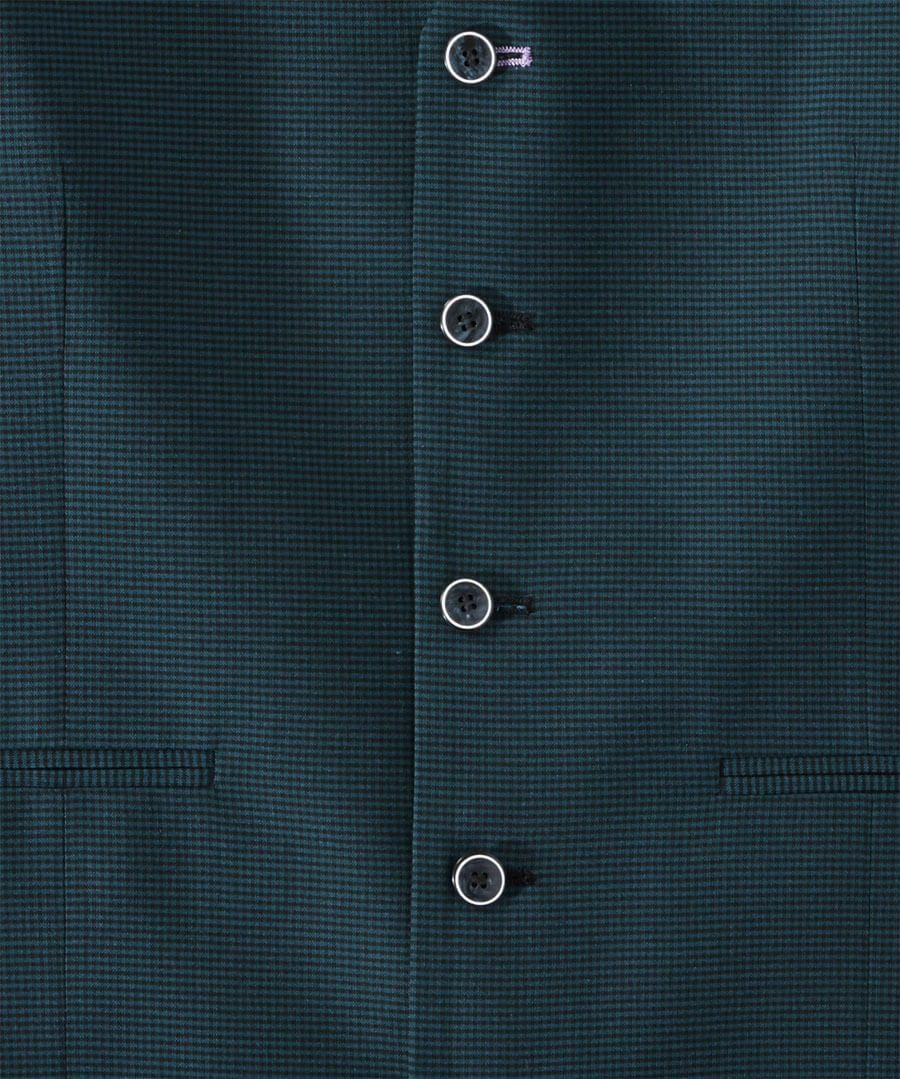 Super Snappy Suit Waistcoat Back