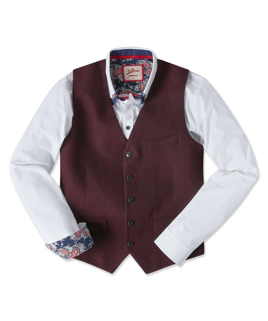 Seriously Snappy Waistcoat Model Front