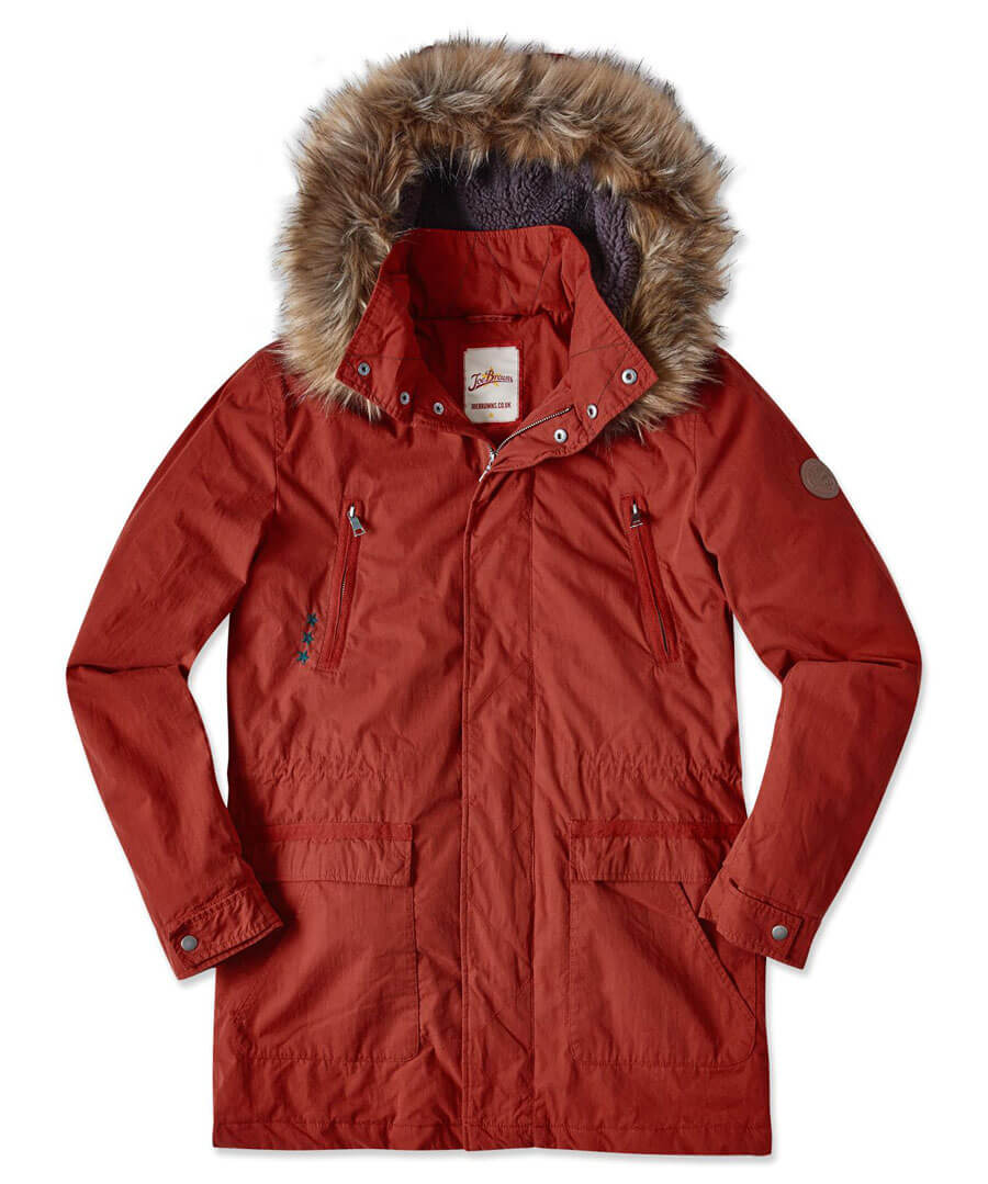 Into The Woods Parka Back