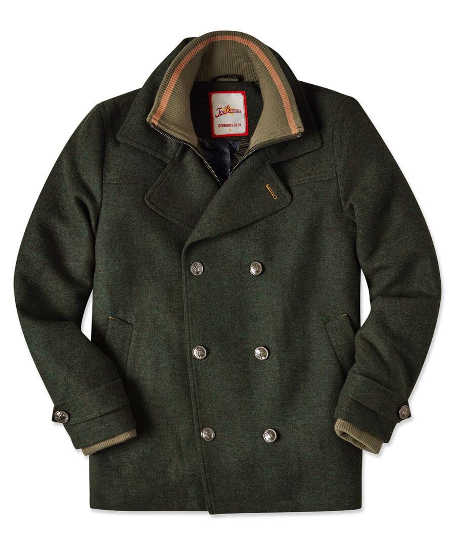 Layer It Up Coat Model Front