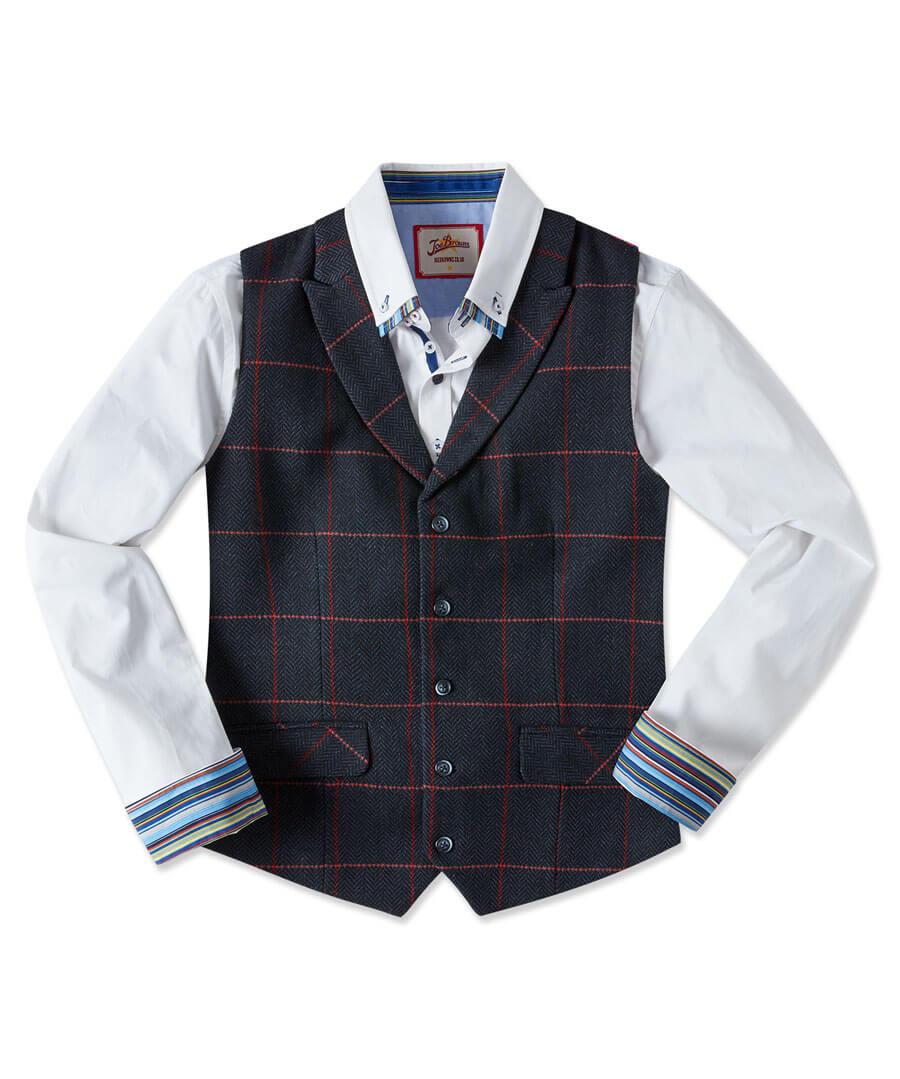 On Form Waistcoat Model Front