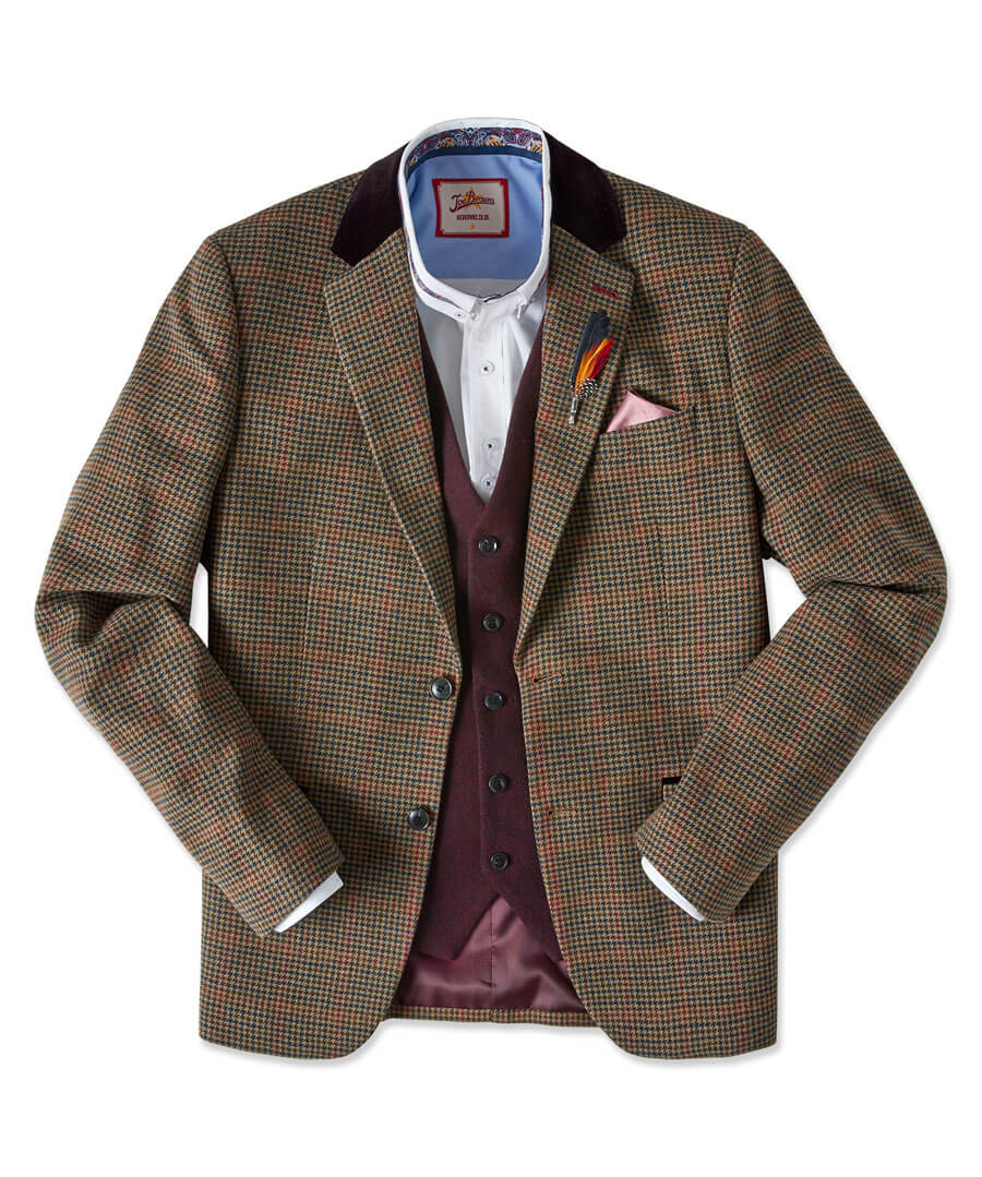 Luxe Country Blazer Model Front
