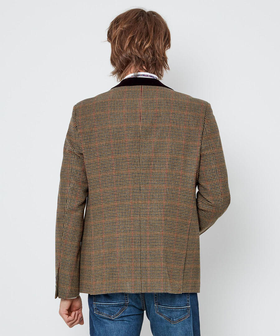 Luxe Country Blazer Model Back