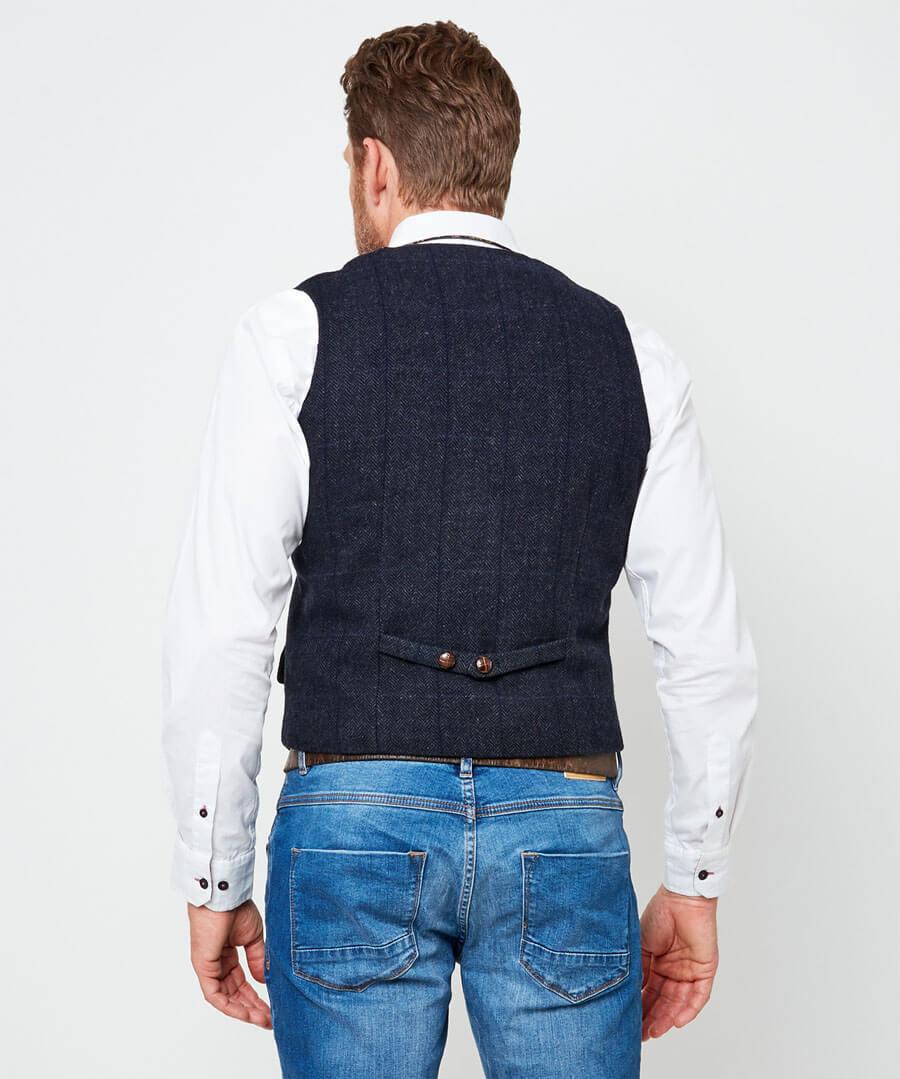 Delightfully Different Waistcoat Model Back