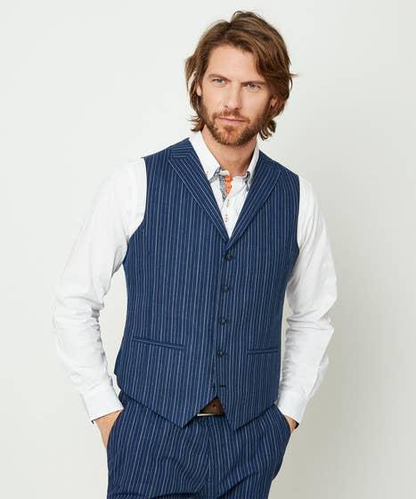 Superb Stripe Waistcoat