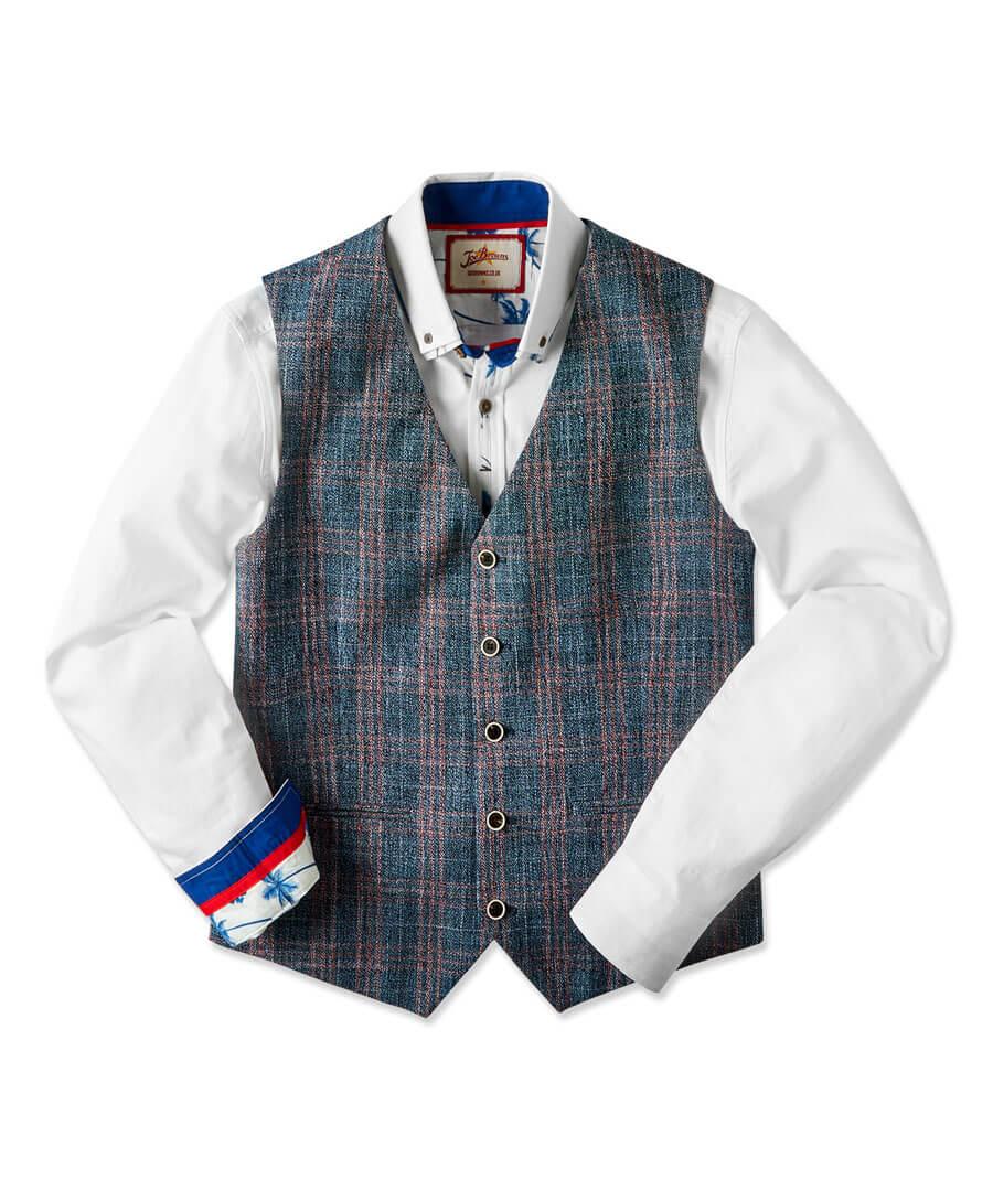Charismatic Check Waistcoat