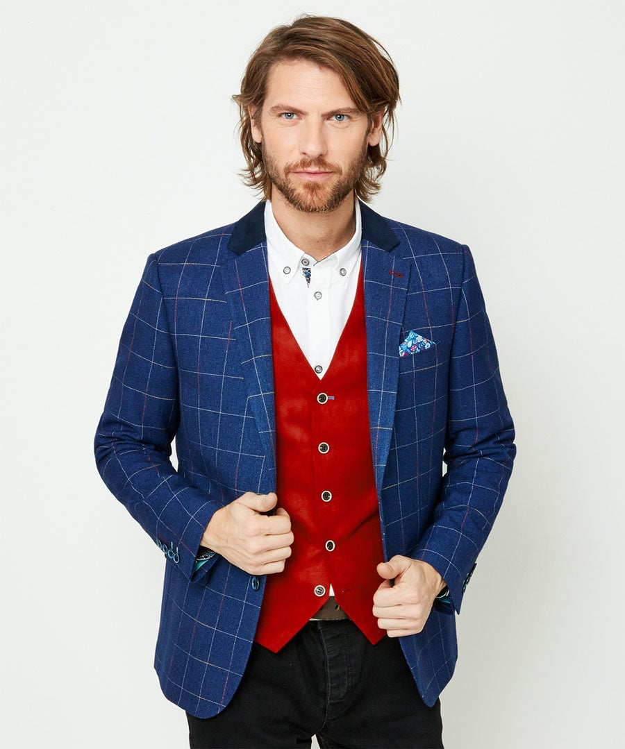 Touch Of Colour Blazer Model Front