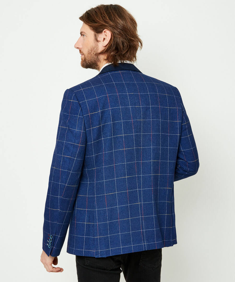 Touch Of Colour Blazer Model Back