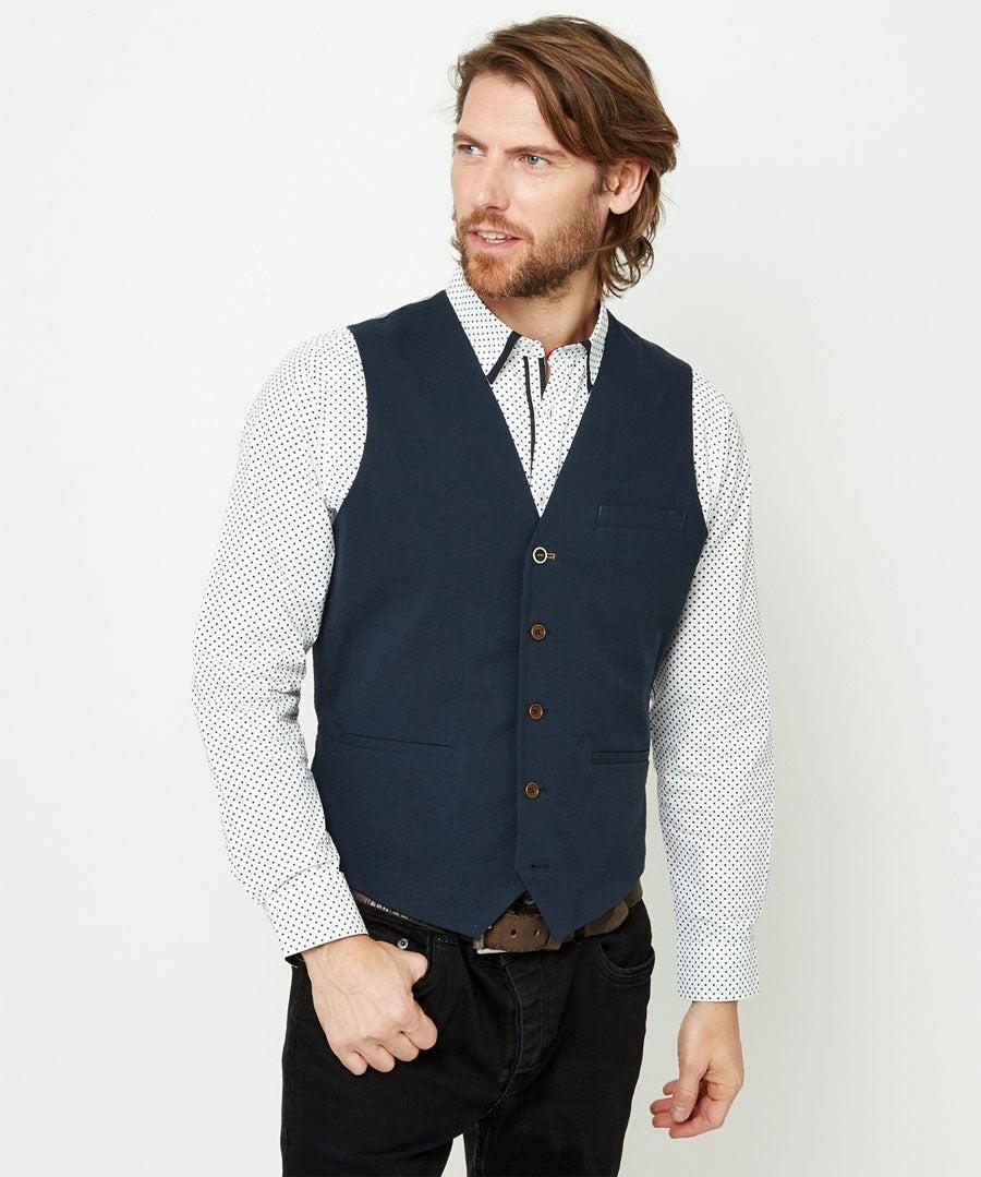 Superb Summer Waistcoat Model Front