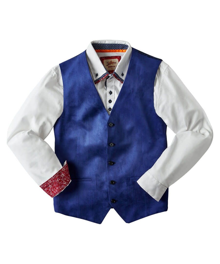 Fun And Funky Waistcoat Model Front