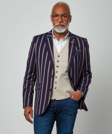 Snazzy In Stripes Blazer