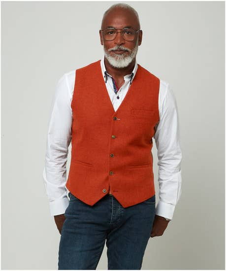 Cool And Confident Waistcoat